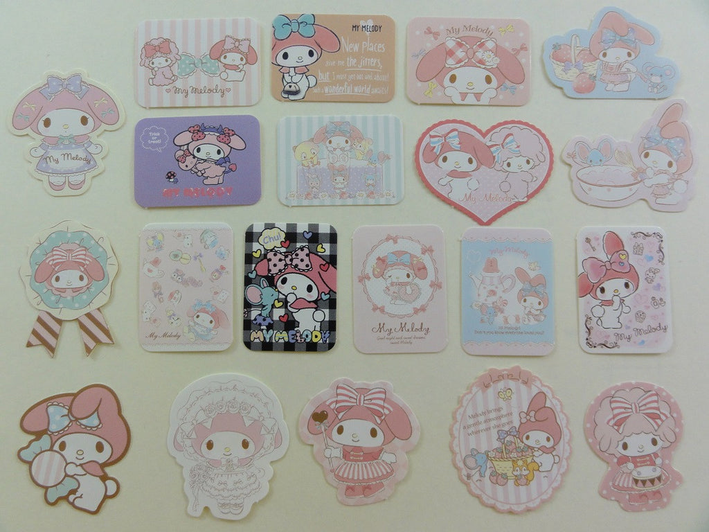Sanrio My Melody Flake Sack Stickers - 2016