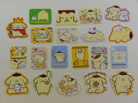 Sanrio Pom Pom Purin Flake Sack Stickers - 2016