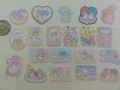 Sanrio Little Twin Stars Flake Sack Stickers - 20 pcs