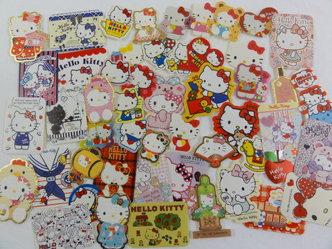 Sanrio Hello Kitty Flake Sack Stickers - 50 pcs