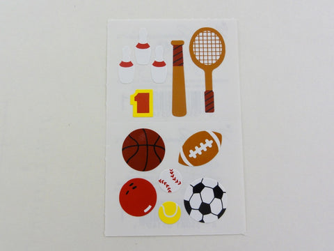 Mrs Grossman Sports Sticker Sheet / Module - Vintage & Collectible 1983