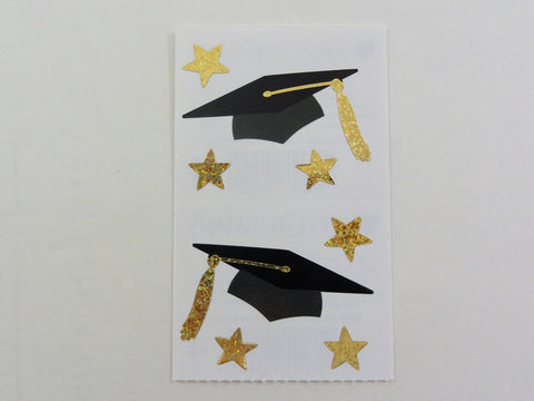 Mrs Grossman Grad Cap Sticker Sheet / Module - Vintage & Collectible 2009