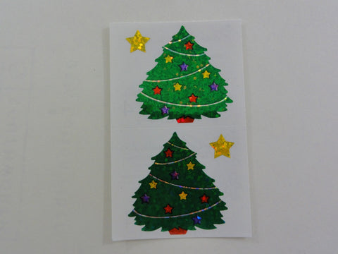 Mrs Grossman Christmas Tree Sticker Sheet / Module - Vintage & Collectible 1995