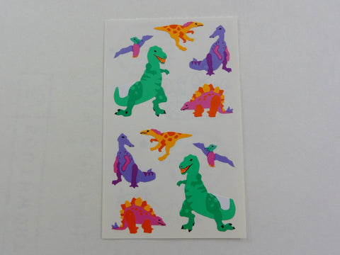 Mrs Grossman Dinosaurs Sticker Sheet / Module - Vintage & Collectible 1993