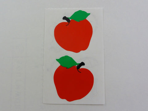 Mrs Grossman Apple Sticker Sheet / Module - Vintage & Collectible 1986