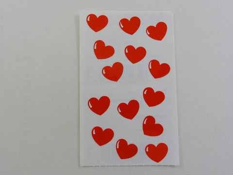 Mrs Grossman Cinnamon Hearts Sticker Sheet / Module - Vintage & Collectible 1993