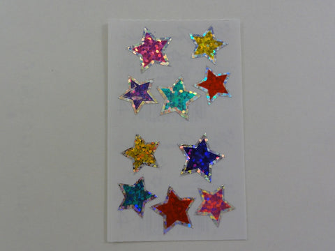 Mrs Grossman Jewel Stars Sticker Sheet / Module - Vintage & Collectible 1995