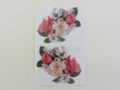 Mrs Grossman Rose Nosegay Photoessence Sticker Sheet / Module - Vintage & Collectible 1998