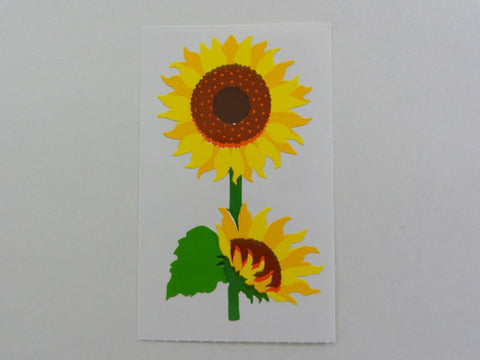 Mrs Grossman Sunflower Sticker Sheet / Module - Vintage & Collectible 1994