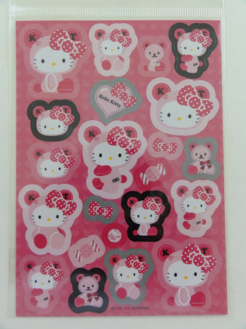 Cute Kawaii Sanrio Hello Kitty Bear Sticker Sheet - 2012
