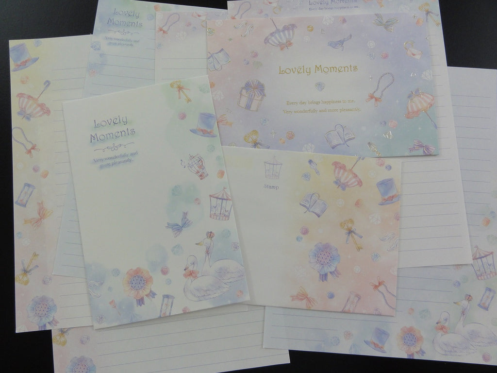 Cute Kawaii Kamio Lovely Moments Letter Sets