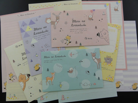 Cute Kawaii Crux Mori no Tomodachi Animals Forest Letter Sets