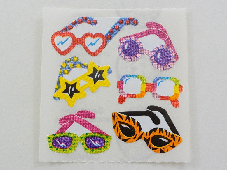 Sandylion Fun Sunglasses Sticker Sheet / Module - Vintage & Collectible