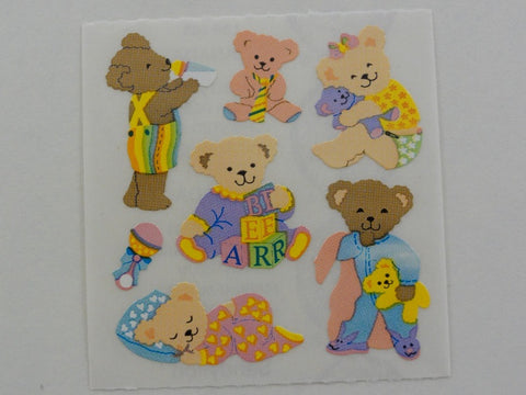 Sandylion Baby Bear Sticker Sheet / Module - Vintage & Collectible