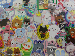 z Cat Kitten Kitty theme Flake Stickers - 40 pcs