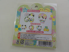 Cute Kawaii Crux Panda Clover Stickers Flake Sack