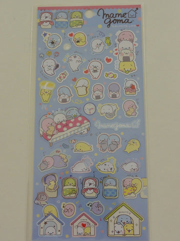 Cute Kawaii San-X Mamegoma Yurumame Life Sticker Sheet - B