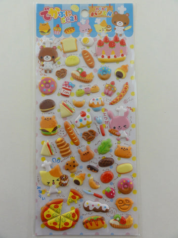 Cute Kawaii Pool Cool Bakery Puffy Sticker Sheet