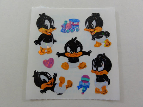 Sandylion Baby Looney Tunes Glitter Sticker Sheet / Module - Vintage & Collectible