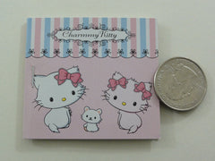 Cute Kawaii Sanrio Charmmy Kitty Mini Sticker Book - 2006 - Rare Vintage