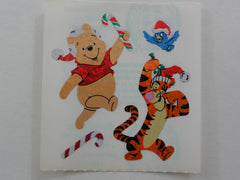 Sandylion Winnie the Pooh Bear Glitter Sticker Sheet / Module - Vintage & Collectiblev - E