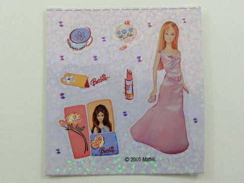 Sandylion Barbie Glitter Sticker Sheet / Module - Vintage & Collectible - D