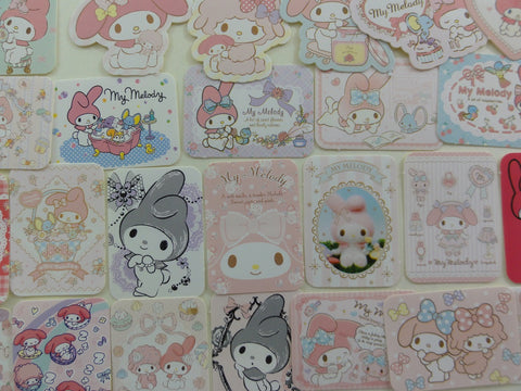 Kawaii Cute Sanrio My Melody Flake Sack Stickers 2014 - 25 pcs
