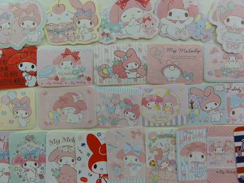 Kawaii Cute My Melody Rabbit Flake Sack Stickers 2015 - 25 pcs