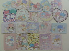 Sanrio Little Twin Stars Flake Sack Stickers 2016 - 20 pcs