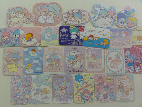 Sanrio Little Twin Stars Flake Sack Stickers 2015 - 25 pcs