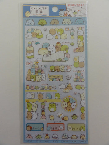Cute Kawaii San-X Sumikko Gurashi Sticker Sheet - A