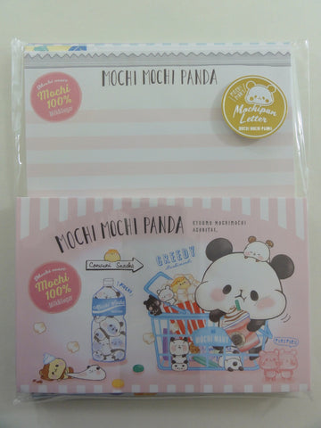 Cute Kawaii Kamio Mochi Panda Letter Set Pack - A