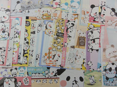 z Cute Kawaii Panda Bear Note Paper Memo Set