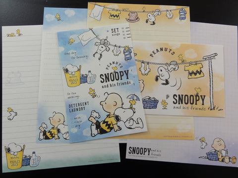 z Peanuts Snoopy Letter Sets Stationery Paper - P