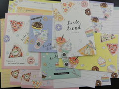 z Cute Kawaii Crux Taste Trend Food Theme Letter Sets