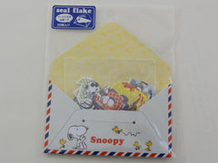Cute Kawaii Kamio Peanuts Snoopy Stickers Sack - G