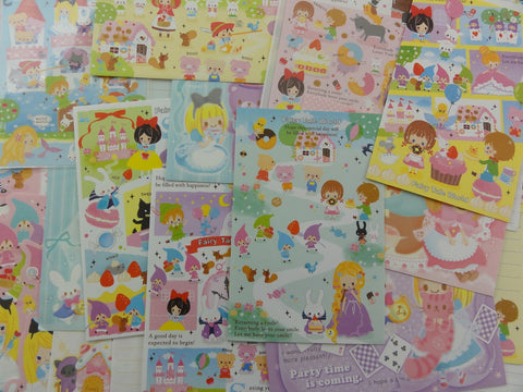 z Princess Dream Fairy Tale Letter Paper + Envelope Theme Set