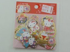Cute Kawaii Sanrio Hello Kitty Washi New Year Stickers Sack 2017