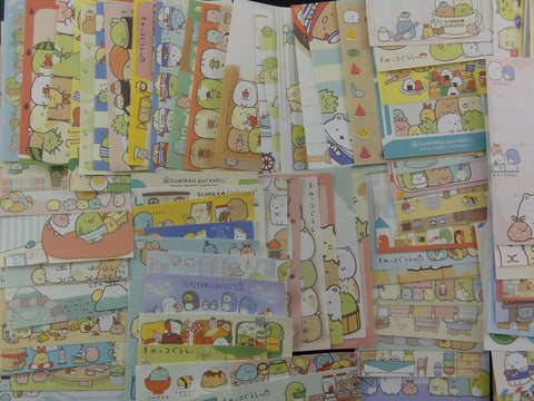 San-X Sumikko Gurashi 90 pc Mini Memo Note Paper Set - Cute Kawaii