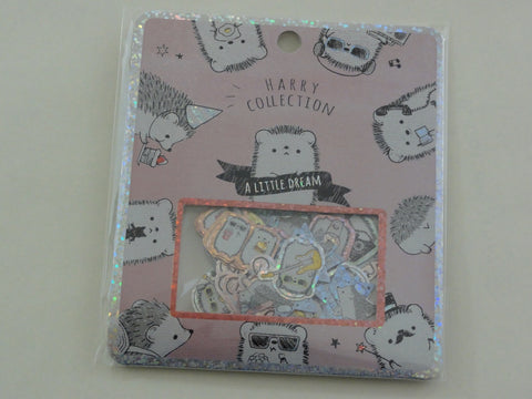 Cute Kawaii Kamio Hedgehog A Little Dream Stickers Flake Sack
