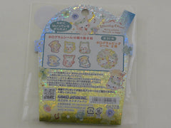 Cute Kawaii Kamio Blooming Clover Cat Kitten Stickers Sack