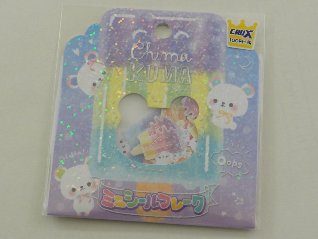 Cute Kawaii Crux Chima Kuma Fruit Popsicle Bear Flake Stickers Sack