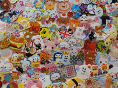 Grab Bag Stickers: 200 pcs for Scrapbooking Journal Craft Planner Gift Cute Kawaii