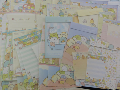 San-X Sumikko Gurashi Home and Friends Stationery Set