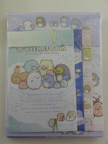 Cute Kawaii San-X Sumikko Gurashi Frozen Letter Set Pack