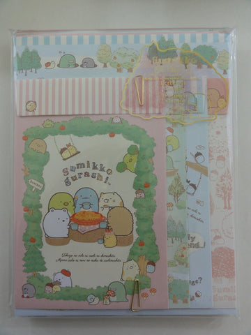 Cute Kawaii San-X Sumikko Gurashi Apple Tree Garden Letter Set Pack - B