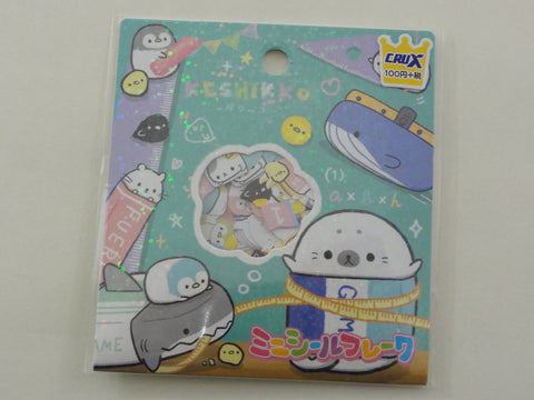 Cute Kawaii Crux Keshikko Bundled Animal Stickers Flake Sack - B