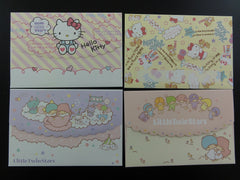Cute Kawaii Sanrio Hello Kitty and Little Twin Stars Envelopes