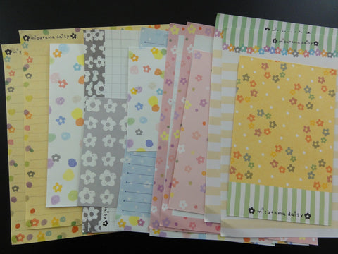 Cute Kamio Mitzuma Daisy Flower Letter Sets stationery