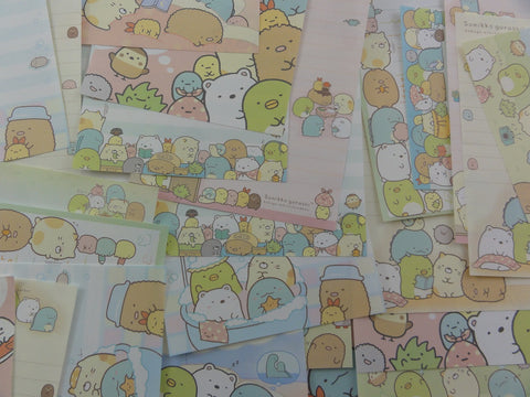 San-X Sumikko Gurashi Family Home Memo Note Writing Paper Set